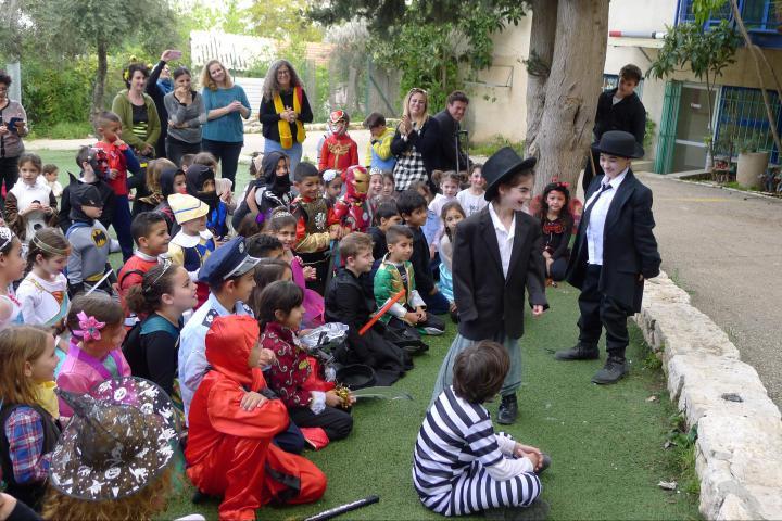 Festa di Purim alla scuola primaria