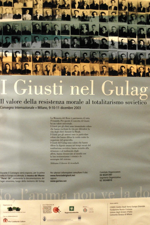 2003 - Il convegno sui Giusti del GULag