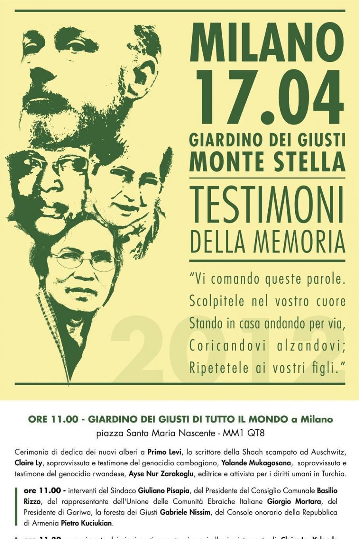 2012 - Testimoni della memoria