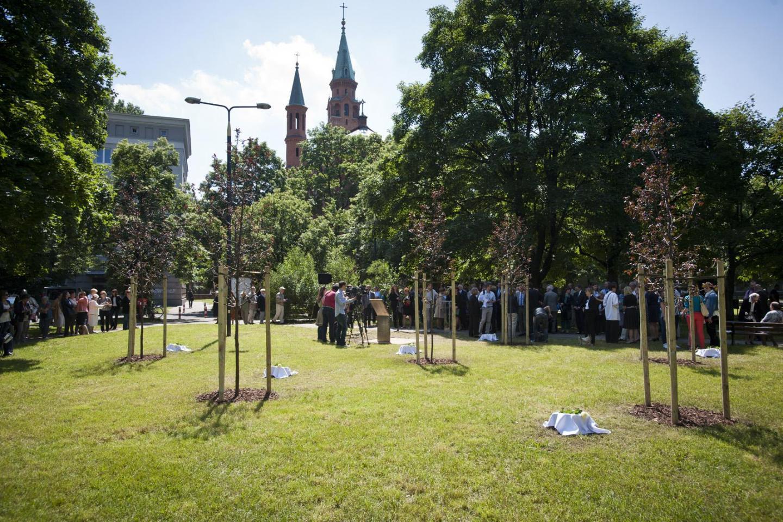 2014 - Nasce il Giardino dei Giusti di Varsavia