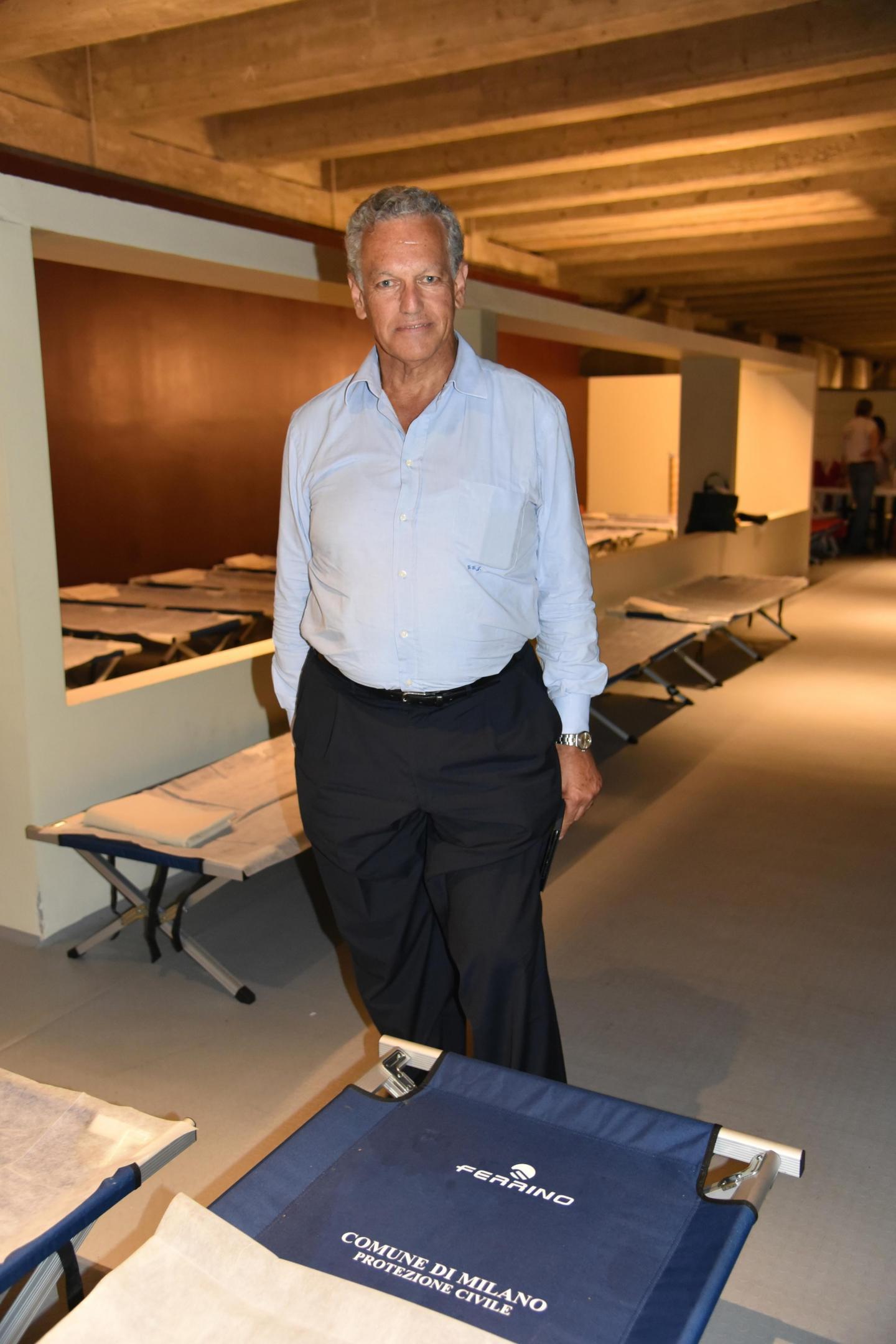 Roberto Jarach, vice presidente della Fondazione Memoriale della Shoah
