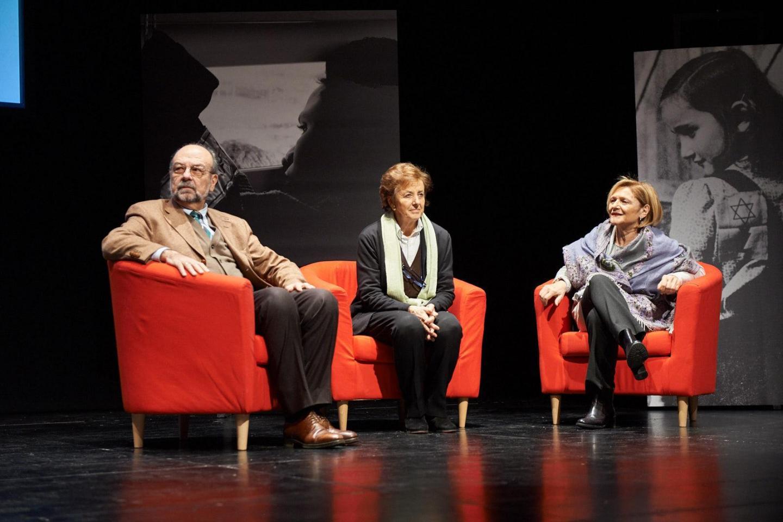 Giorgio Mortara, Anna Maria Samuelli, Franca Schiavon