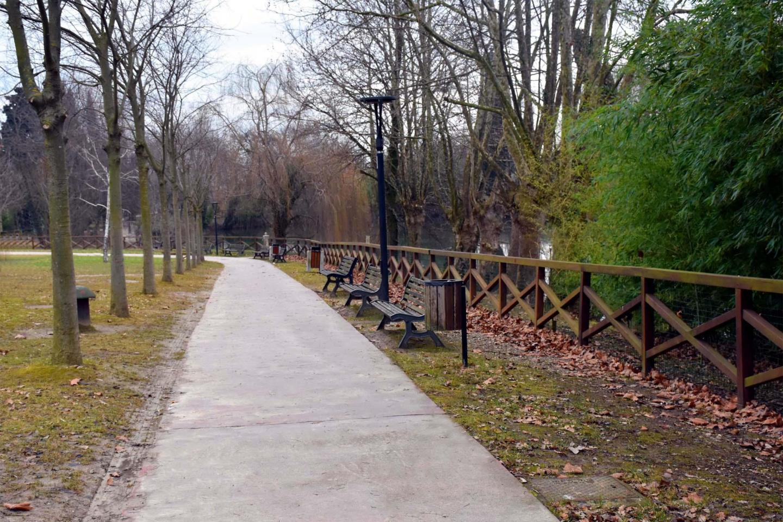 Uno scorcio del Parco ospitante il Boschetto di Desenzano