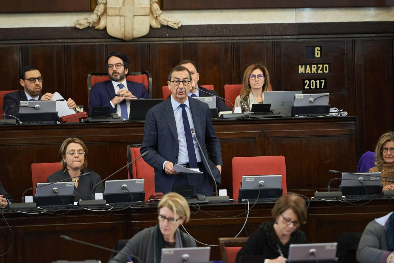 L'intervento del Sindaco di Milano Giuseppe Sala