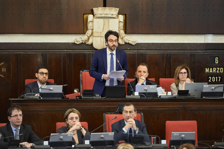 L'intervento di Lamberto Bertolé in Consiglio comunale