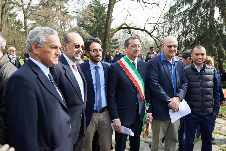 Roberto Jarach, Giorgio Mortara, Lamberto Bertolé, Gabriele Nissim e Francesco Hu