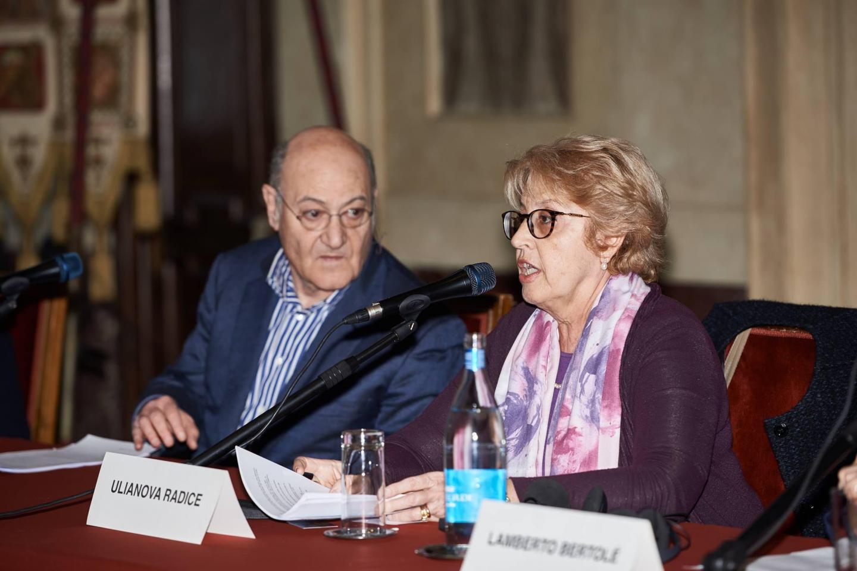 Gabriele Nissim e Ulianova Radice
