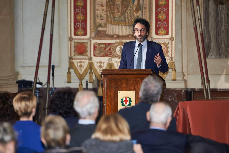 Il presidente del Consiglio comunale di Milano Lamberto Bertolé
