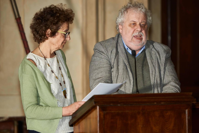 Klaas Smelik e Renata Tardani
