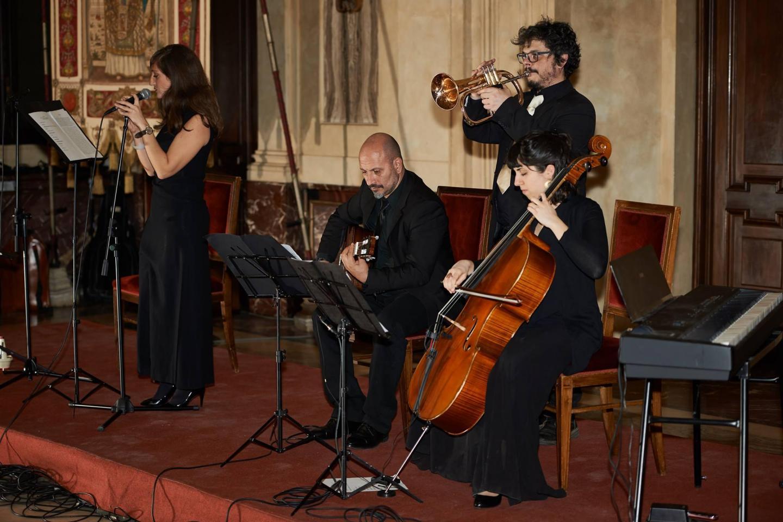 Il concerto del quartetto Goldene Medine