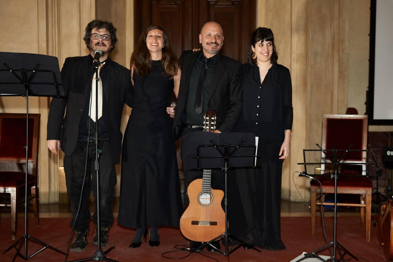 Massimo Marcer, Miriam Camerini, Massimo Latronico e Bruna Di Virgilio