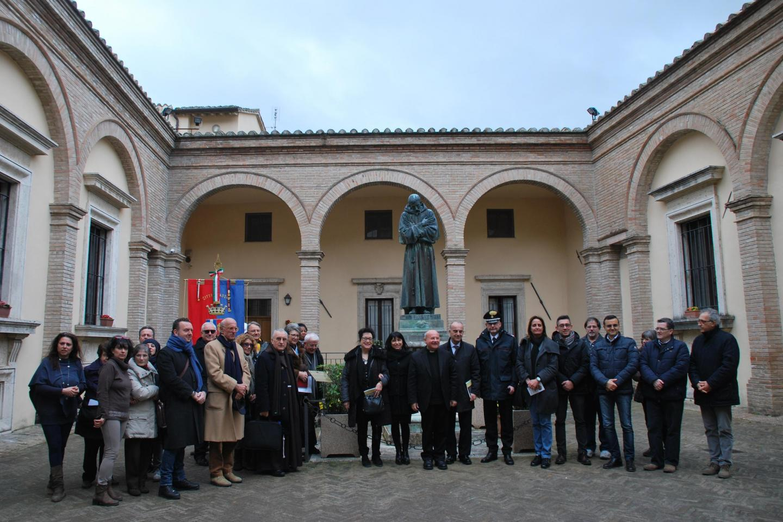 Assisi, all'evento erano presenti il vescovo di Assisi ed il sindaco