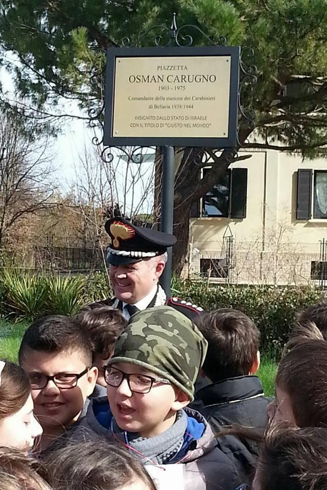 La cerimonia a Bellaria in presenza delle autorità