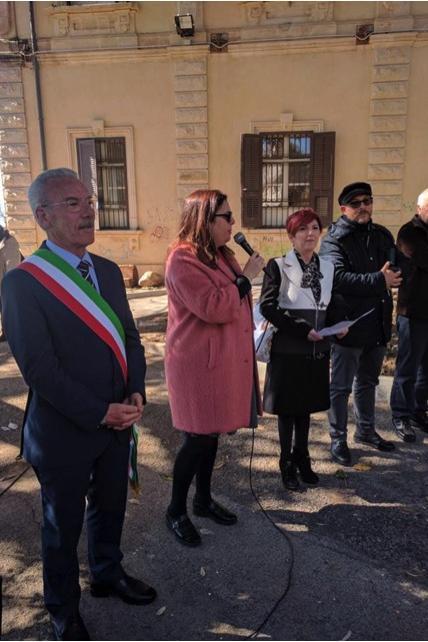 Pozzallo, con la presenza del sindaco Luigi Ammatuna e assessori Gugliotta e Ammatuna, e don Michele Iacono