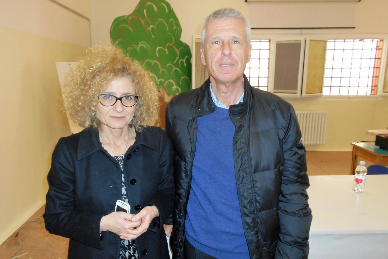 Il Direttore Maria Pitaniello e Franco Perlasca