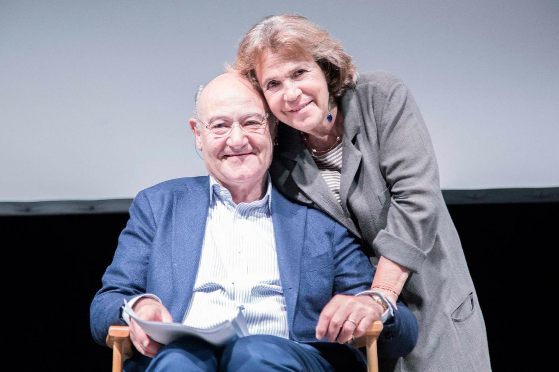 Gabriele Nissim e Andrée Ruth Shammah, Direttrice del Teatro Franco Parenti