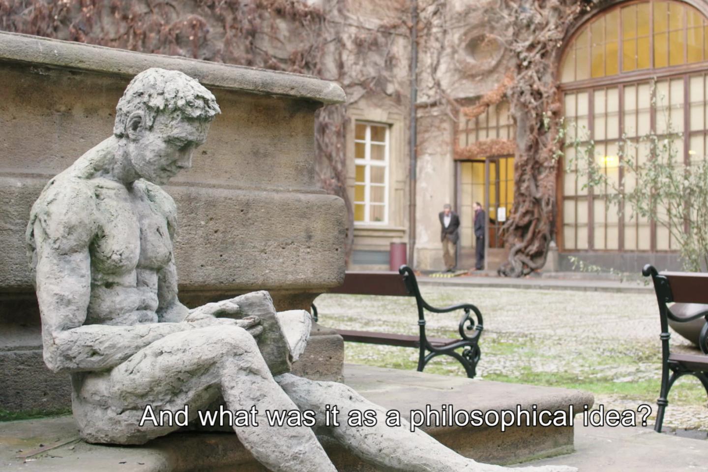 Alcune immagini di scena del documentario dedicato a Jan Patocka