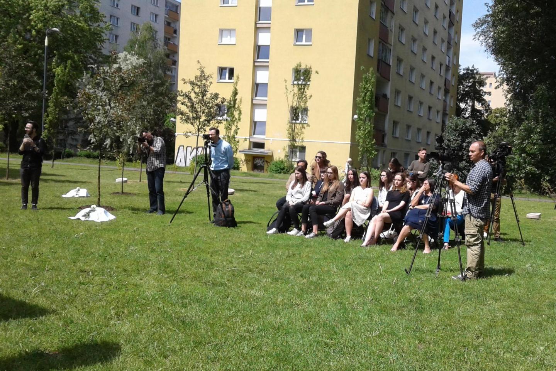 Al termina della cerimonia sono stati premiati gli studenti vincitori del concorso sui Giusti promosso dalla Casa degli incontri con la Storia di Varsavia