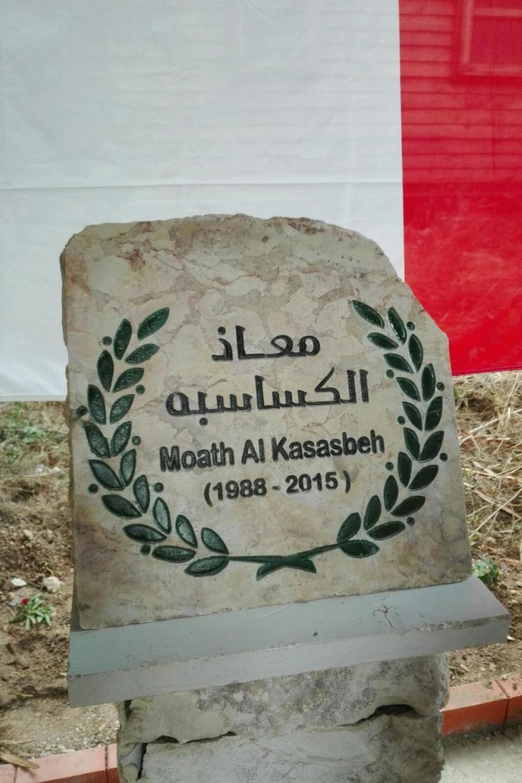 cippo per Moath Al Kasasbeh