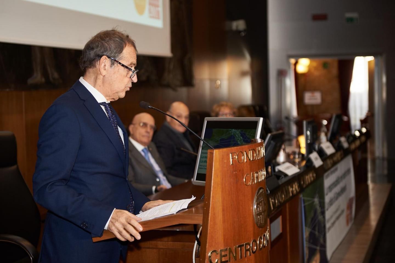 I saluti del Sottosegretario alla Presidenza della Regione Lombardia Gustavo Cioppa
