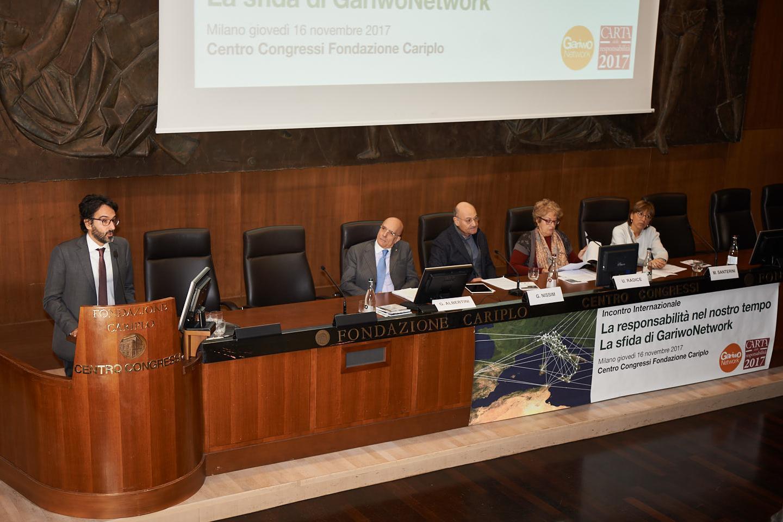 Il saluto del Presidente del Consiglio comunale di Milano Lamberto Bertolé