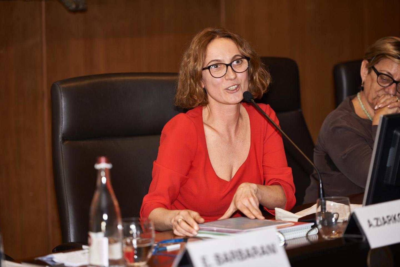 Anna Ziarkowska, capo dipartimento istruzione Casa incontri con la storia Varsavia