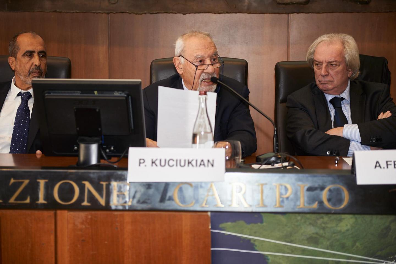 Pietro Kuciukian, console onorario Repubblica d'Armenia in Italia, per il Giardino di Yerevan