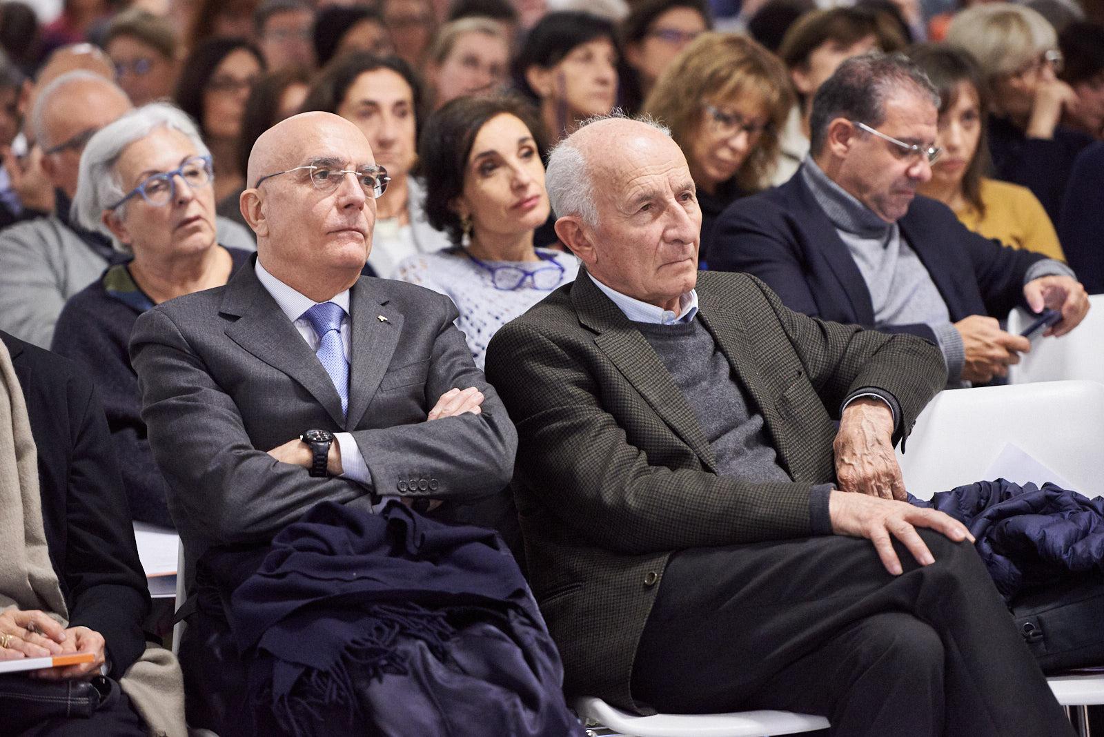 presente alla giornata anche Gabriele Albertini, già sindaco di Milano e primo firmatario dell'appello per l'istituzione del 6 marzo-Giornata europea dei Giusti