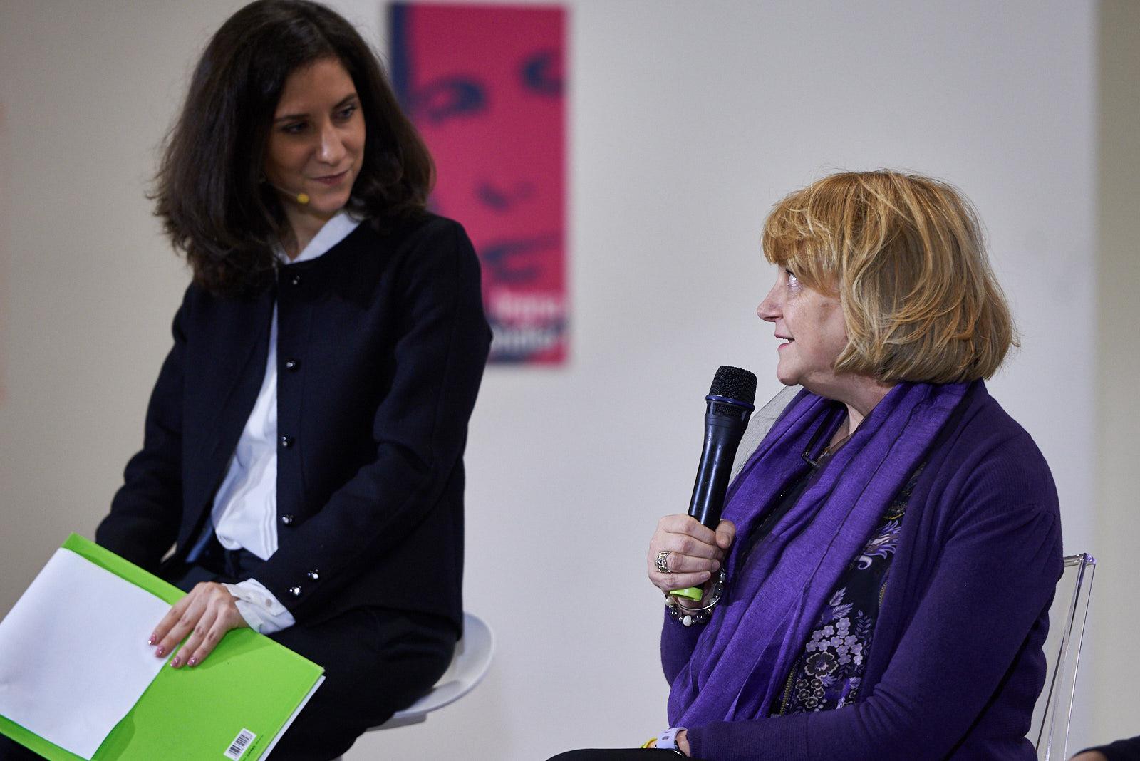 Antonella Maucioni, dirigente scolastica dell'istituto Leonardo da Vinci di Fiumicino Maccarese
