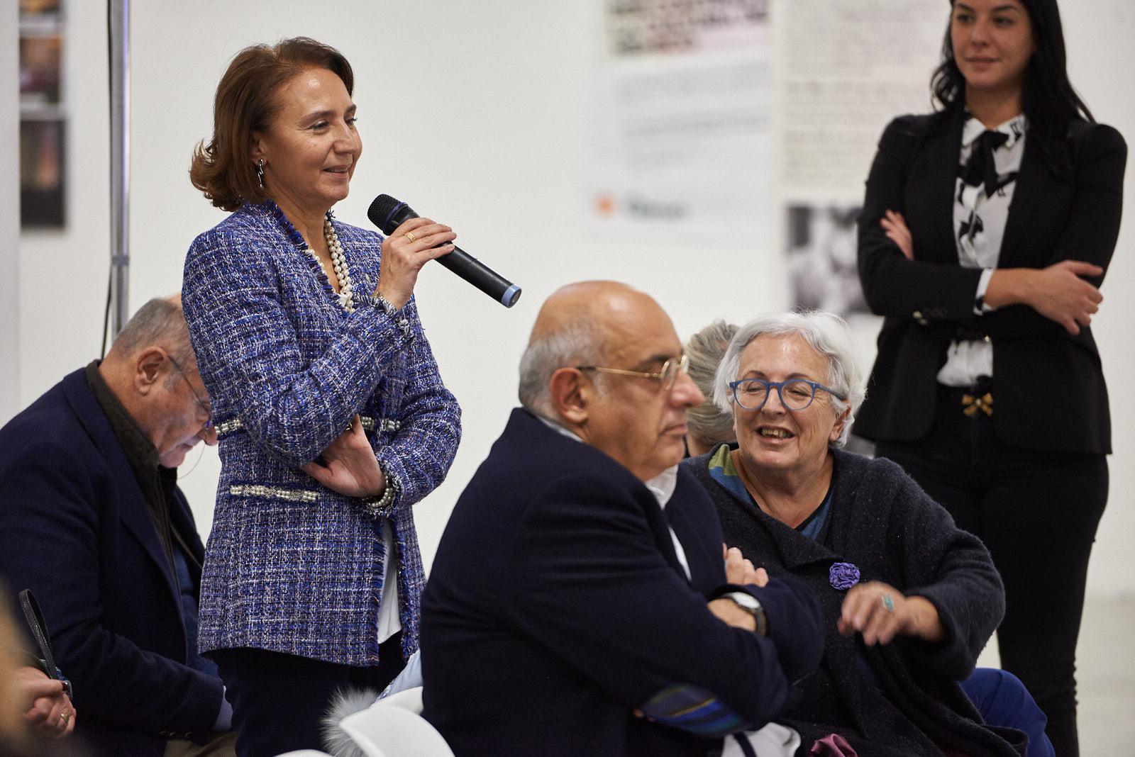 Enza Nunziato, giornalista impegnata nella diffusione del messaggio dei Giusti, rappresentante di Gariwo nella città di Benevento