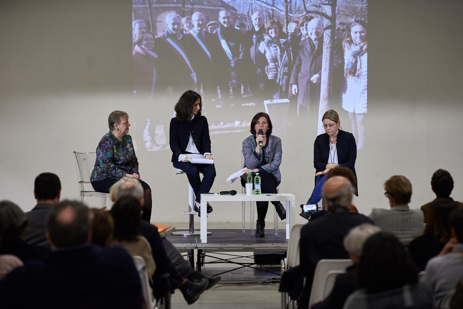 Roberta Miotto, dell'Associazione Senza Confini