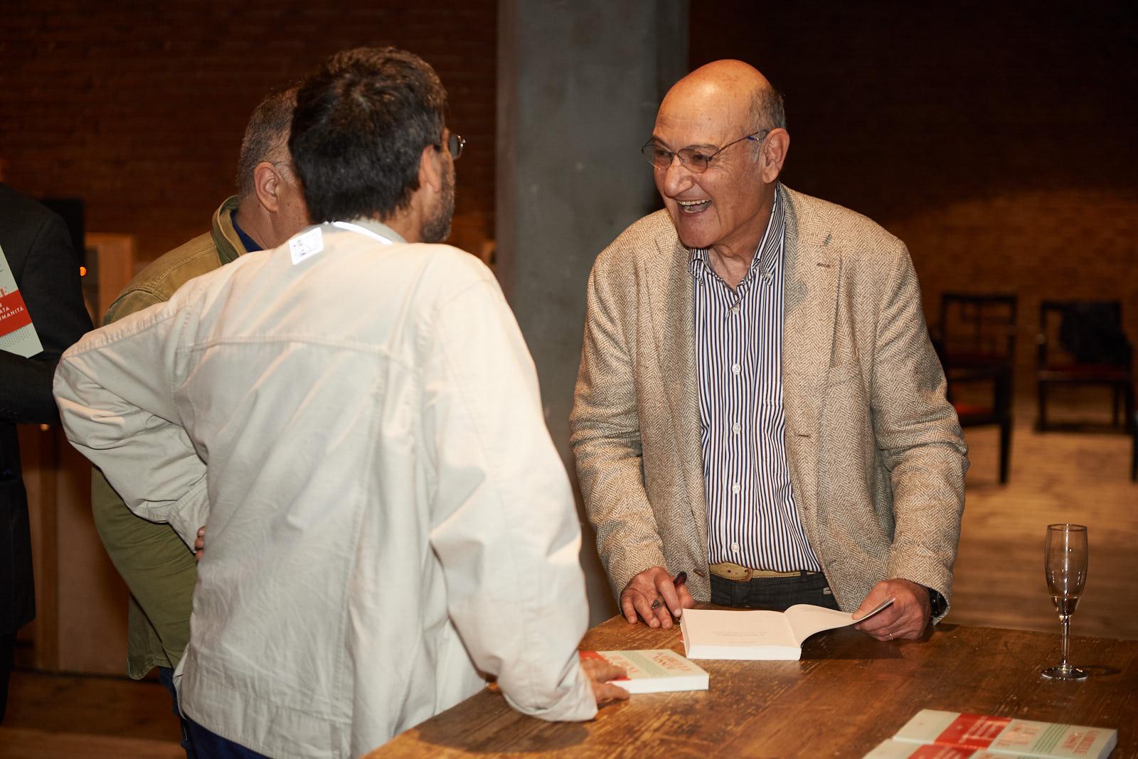 """Gabriele Nissim presenta il suo """"Il bene possibile"""" (Utet) al Teatro Franco Parenti"""