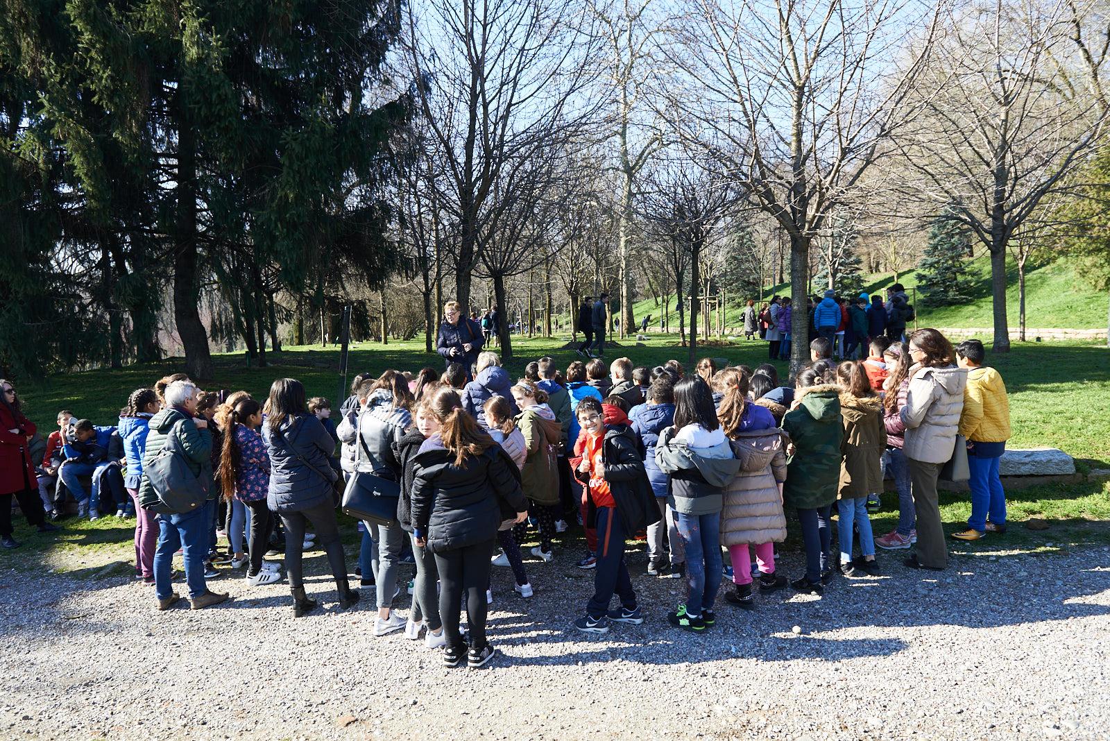 le visite guidate al Giardino dei Giusti di Milano con la nostra Commissione Didattica