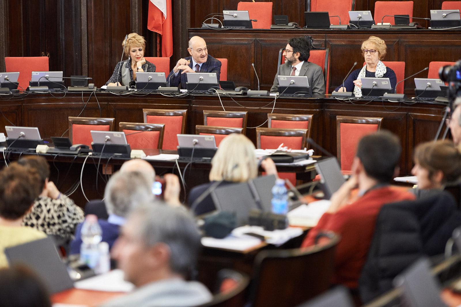 Gianna Coletti, Gabriele Nissim, Lamberto Bertolé e Ulianova Radice