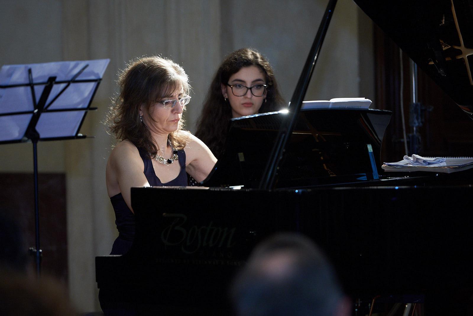 La pianista Ani Martirosyan