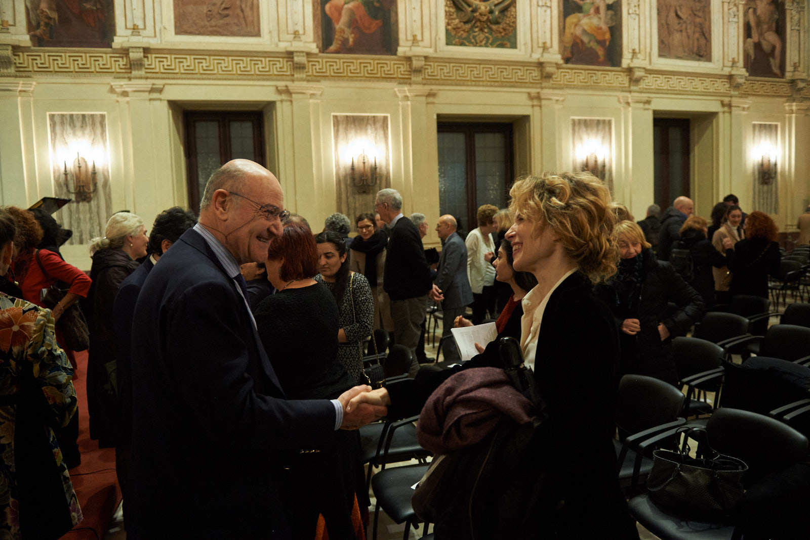 Gabriele Nissim e Sonia Bergamasco