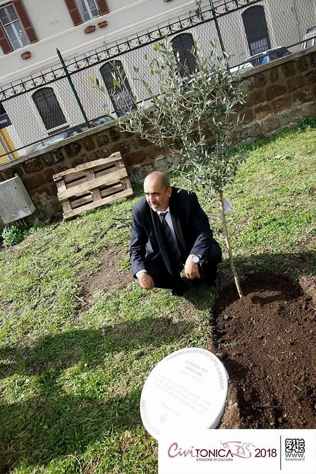 Hamadi ben Abdesslem a Civita Castellana  (foto Civitonica Stagione Cultura 2018)