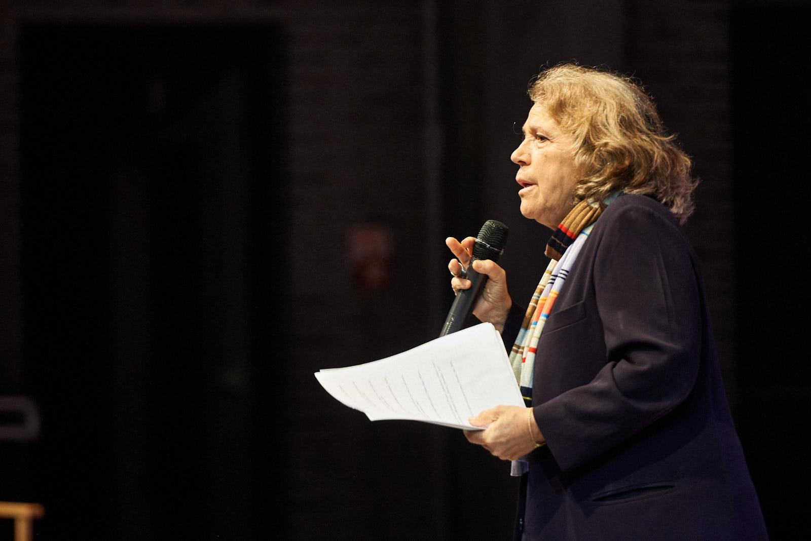 Andrée Ruth Shammah introduce la serata