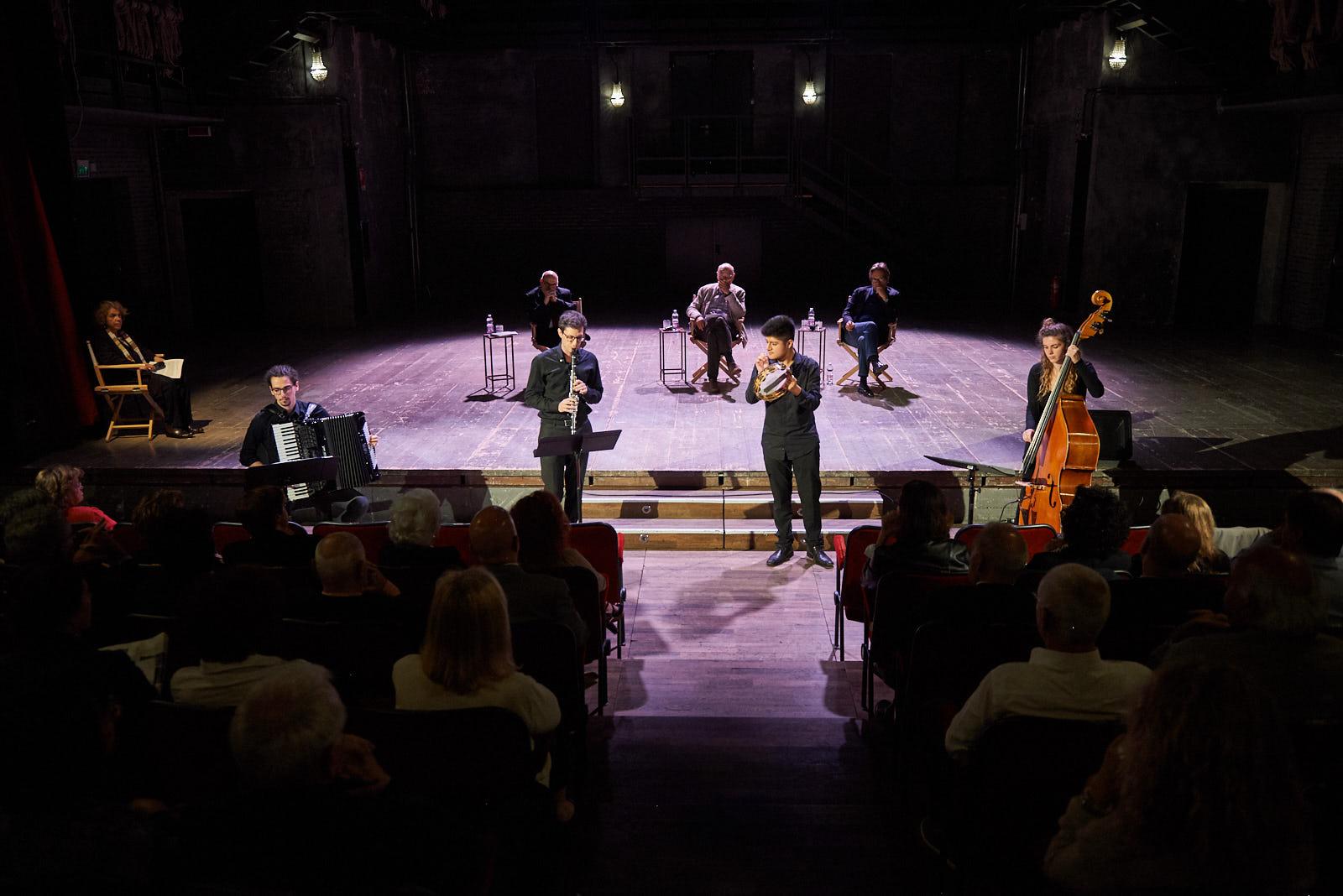 Il gruppo Kletzmorim del Conservatorio di Milano