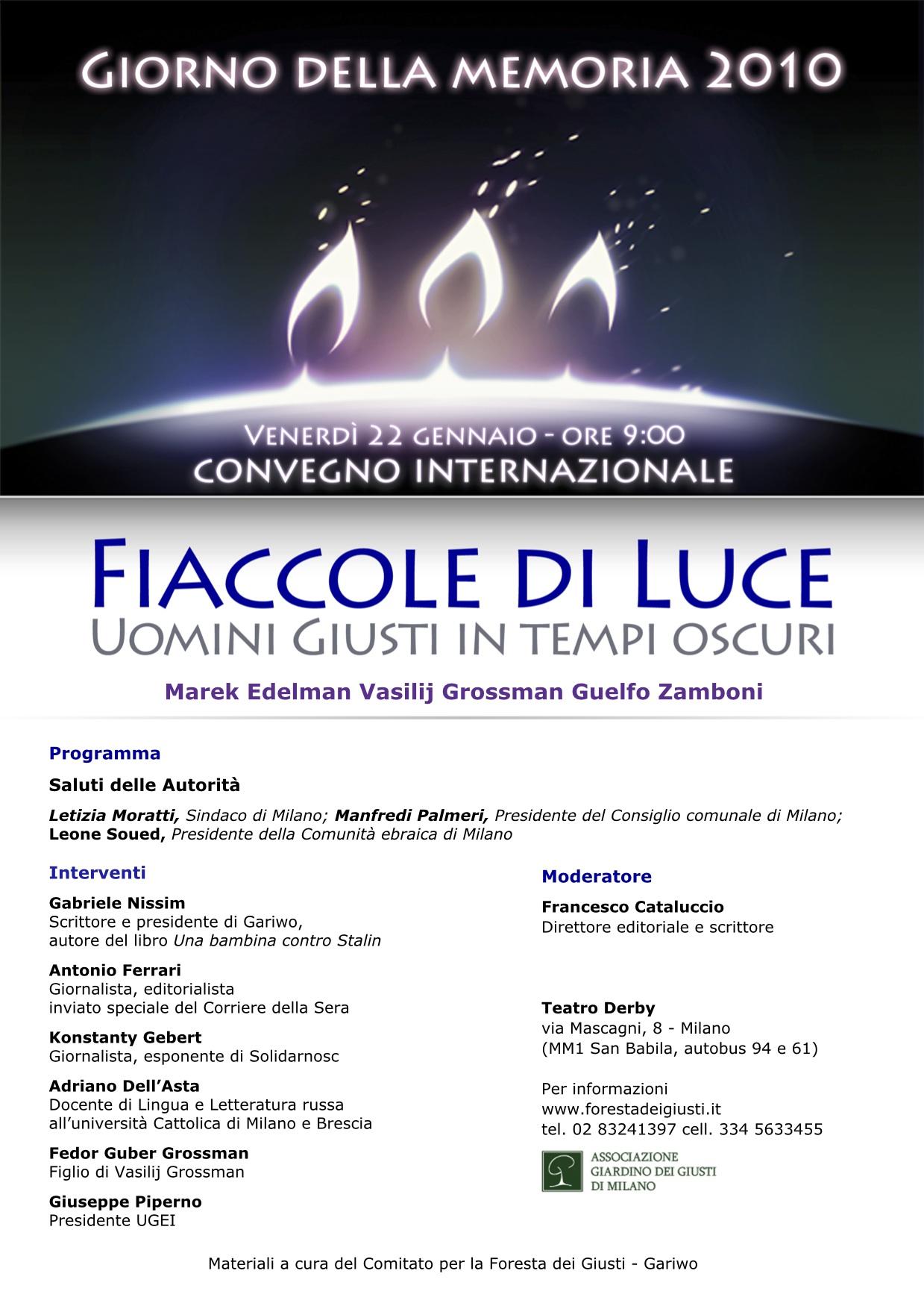 Fiaccole di Luce - 2010