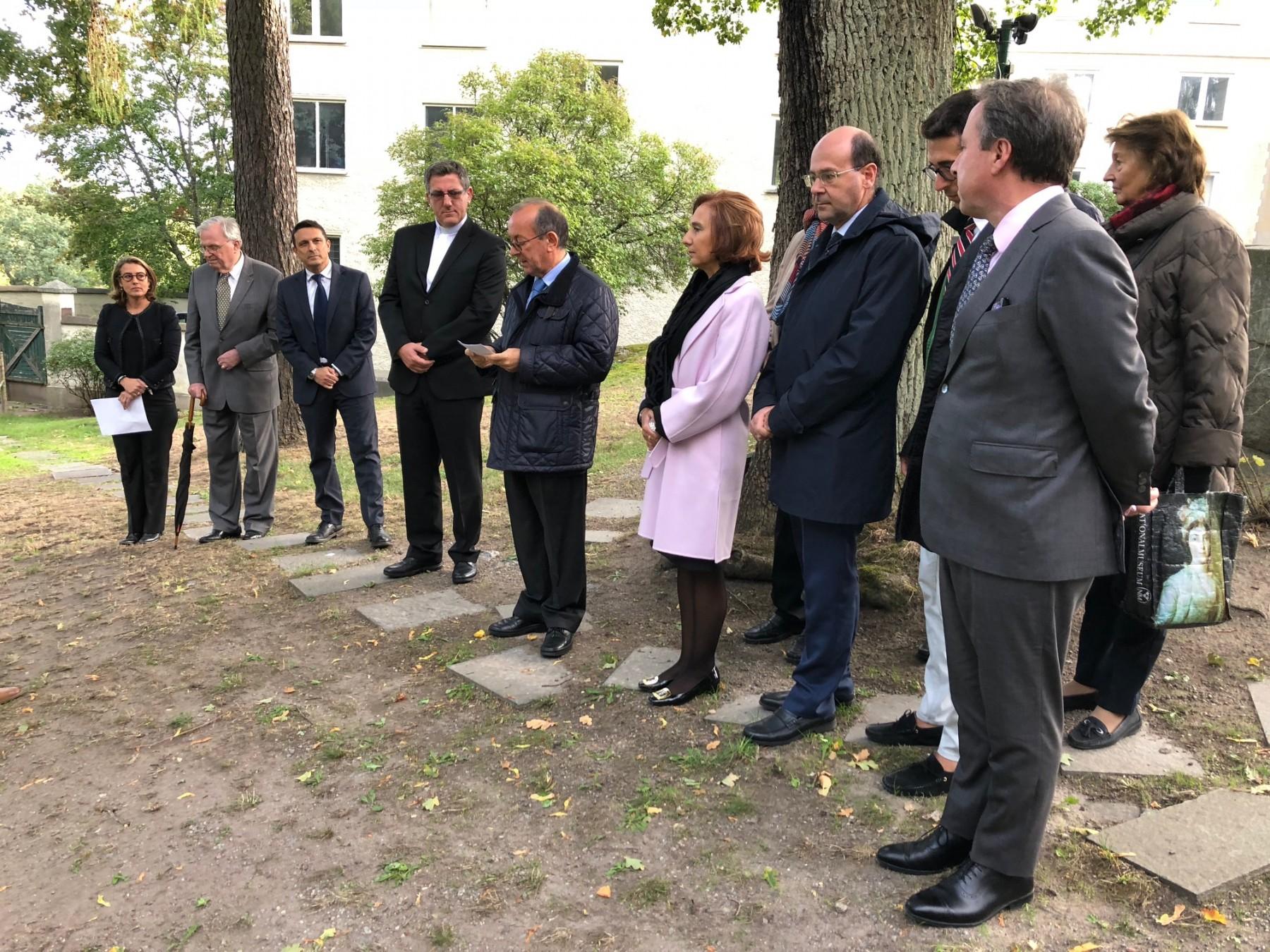 Il discorso dell'Ambasciatore d'Italia in Svezia Mario Cospito
