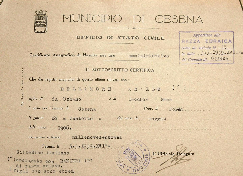 documento ebreo