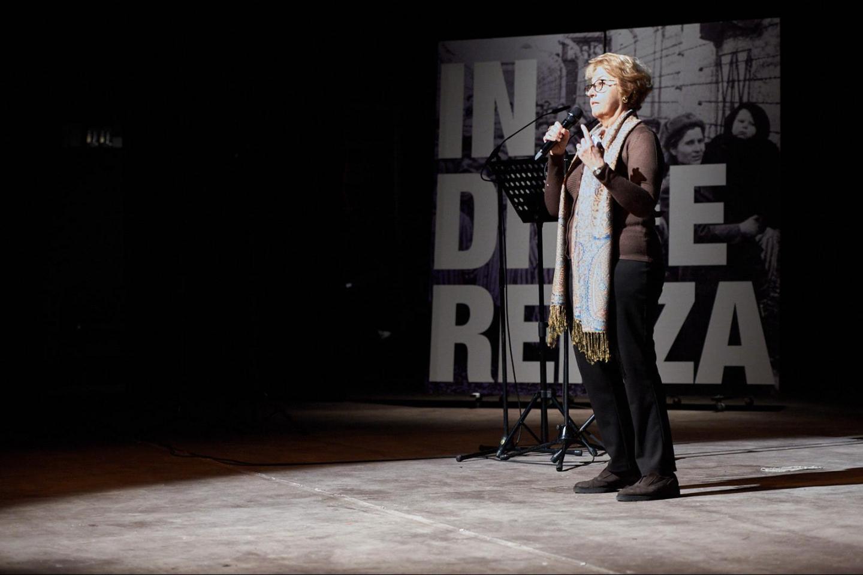 I saluti di Ulianova Radice, direttrice di Gariwo, che apre la giornata.