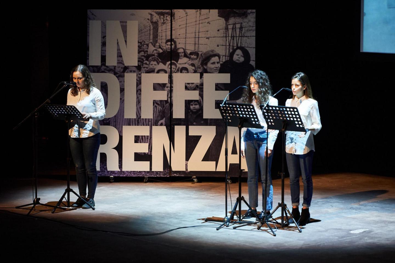Milde Catalano, Martina Volonté e Beatrice Zago del Liceo G.B. Grassi di Saronno leggono Liliana Segre.