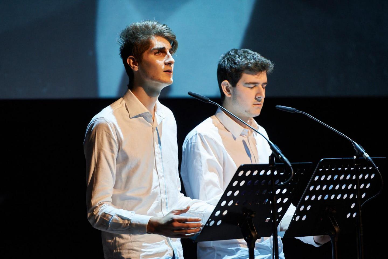 Davide Elli e Matteo Spotti del Liceo G.B. Grassi di Saronno.