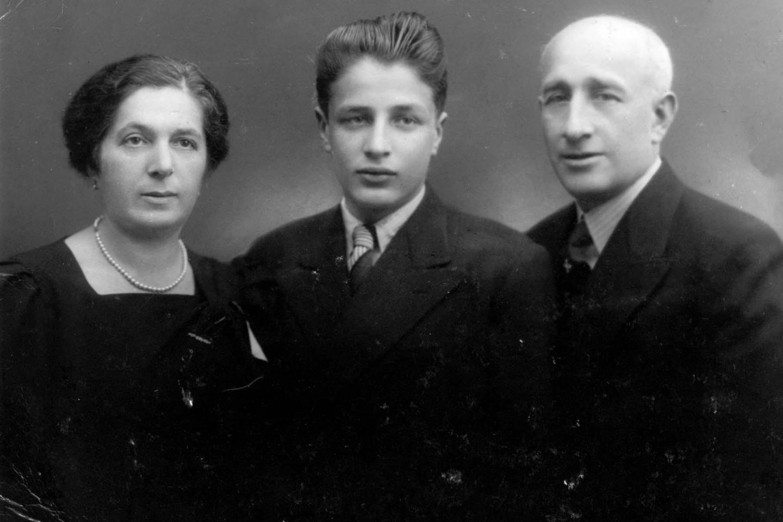 Eric Goldstaub e la sua famiglia