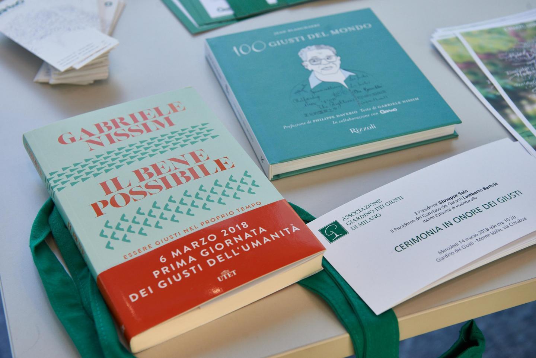 """I nuovi libri per la Giornata dei Giusti: """"Il Bene possibile"""" di Gabriele Nissim e """"100 Giusti del mondo"""" di Jean Blanchaert"""