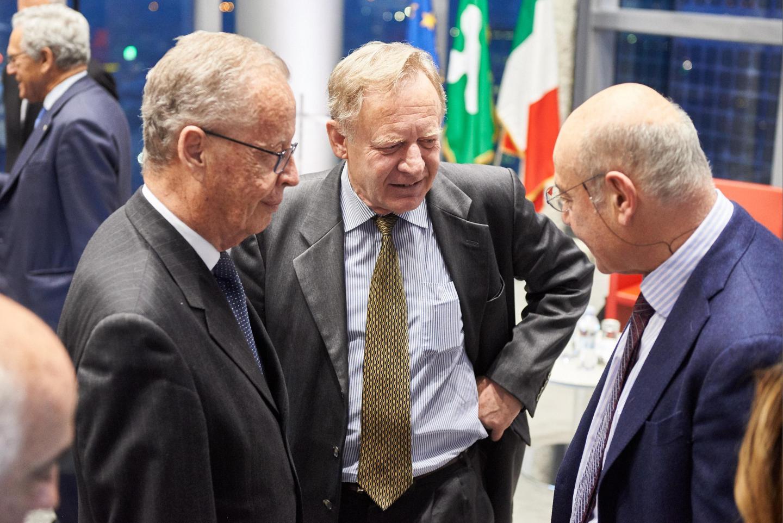 Gabriele Nissim insieme a Dario Rivolta