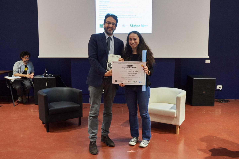 Lamberto Bertolè premia la II C del liceo classico Zucchi di Monza