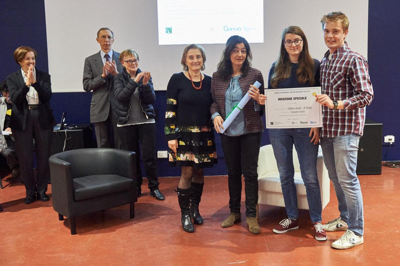 Menzione speciale al liceo scientifico Vittorio Veneto di Milano